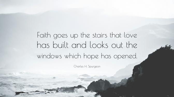 That Leap Of Faith..