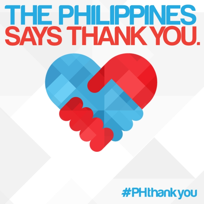 The Philippines Says Thank You!!!