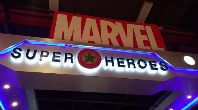 Marvel Store in Bangkok..