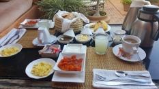 Breakfast is included..