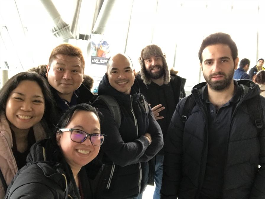 Friends from Turkey