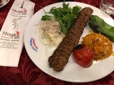 Spicy Adana Kebab