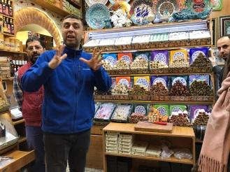 The friendly staff of Ottoman Spice Centre