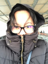 It was so cold!! Brrrrr...