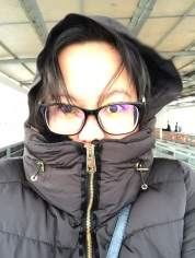 It was so cold!! Brrrrr...