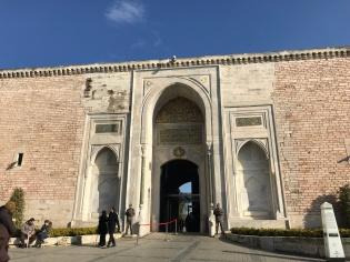Entrance of Topkapi Palace